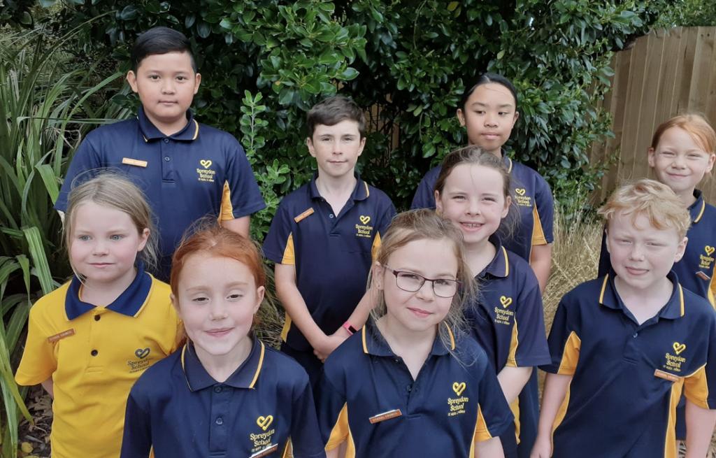 Student School Leaders, Spreydon School